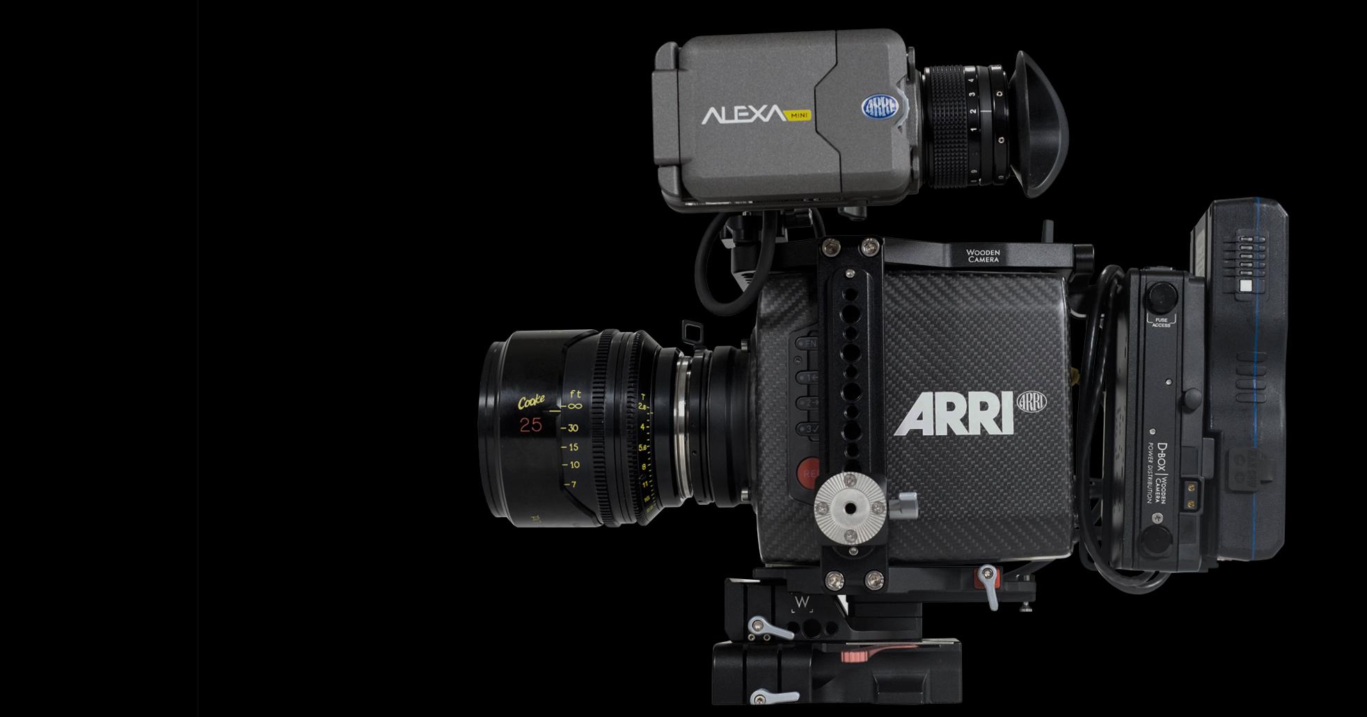 ARRI ALEXA MINI- 4K, HDR, HFR - ARRI RAW